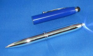 3in1 Blue Stylus Pen