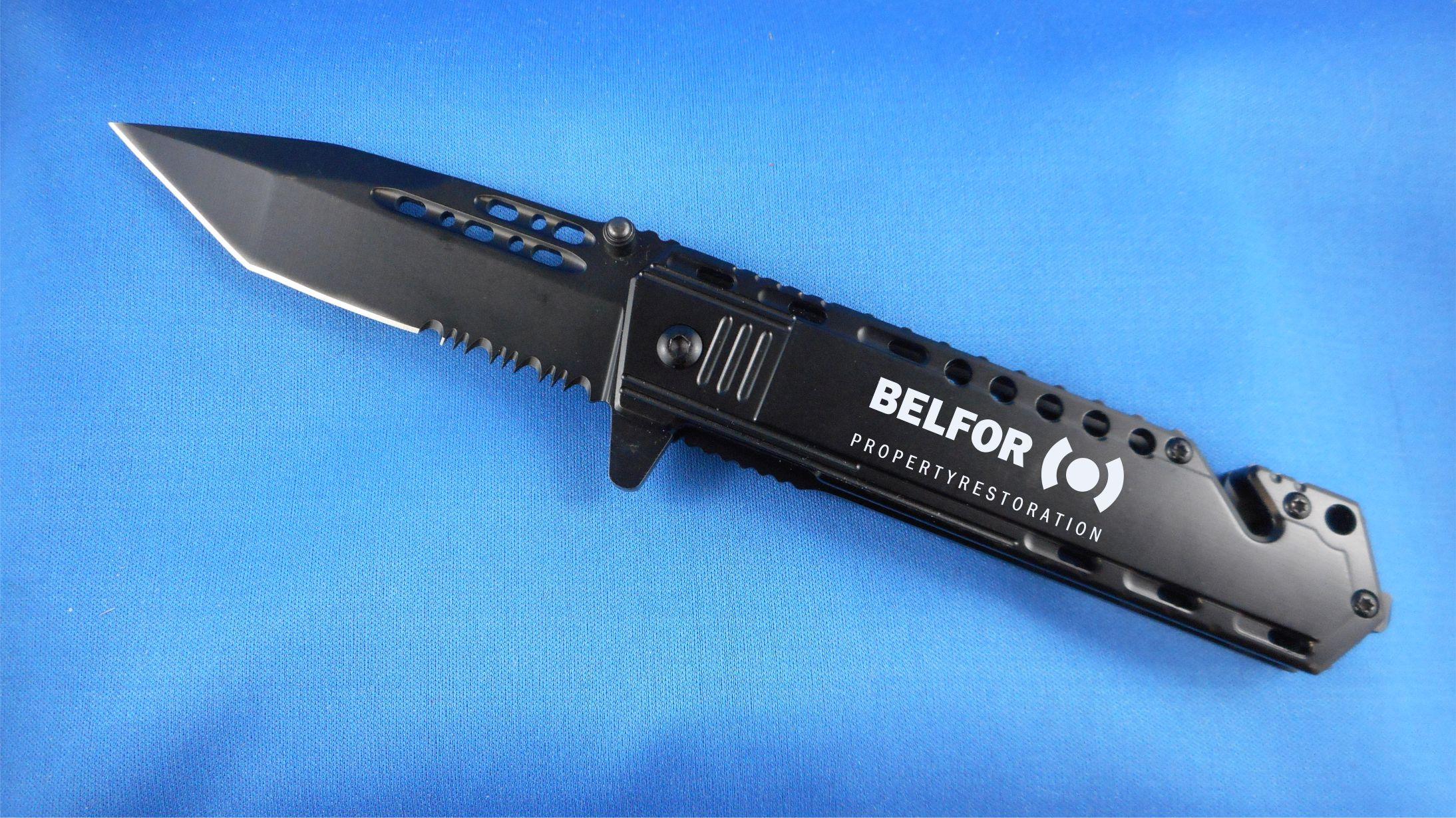 Black Safety Knife